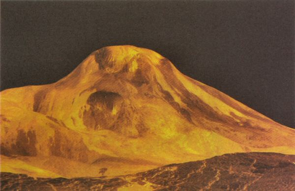 Mountain on Venus